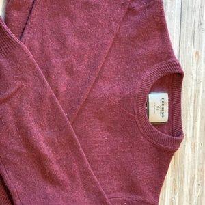 Men's Express Cashmere Blend Sweater size Lrg